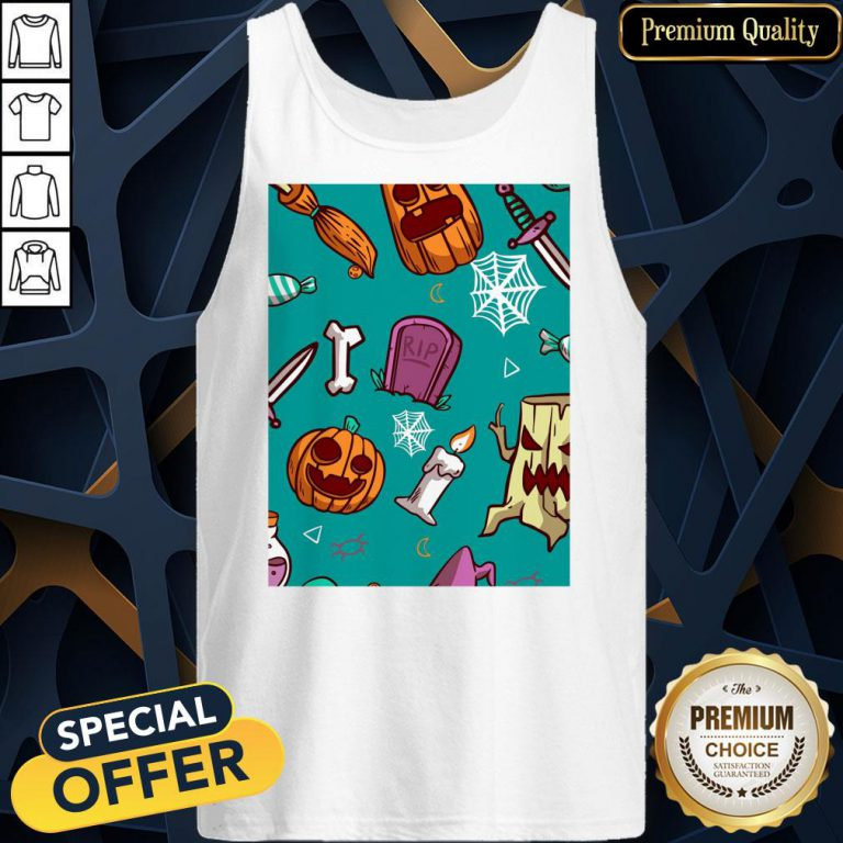 Official Spooky Happy Halloween Day 2020 Tank Top