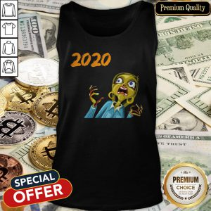 Scary Halloween 2020 Monsters Tank Top