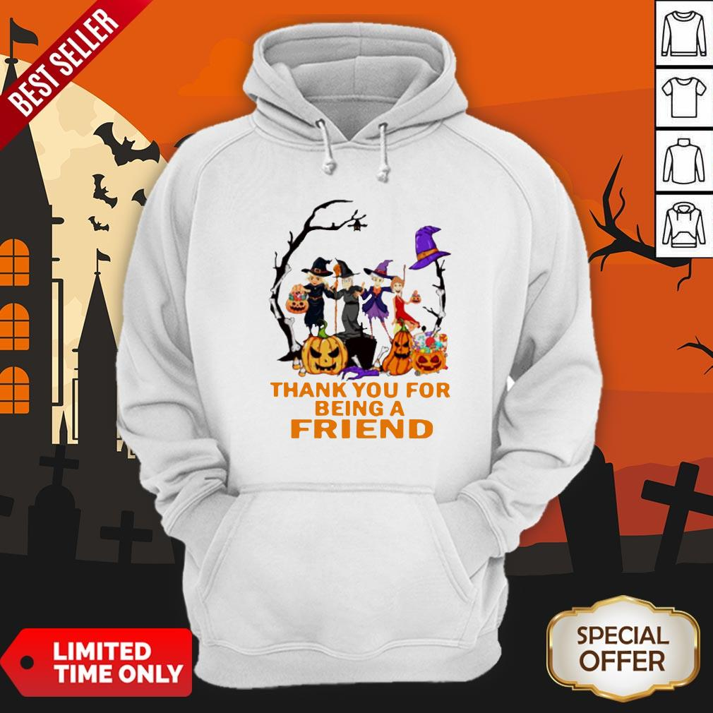 The Golden Girls Thank You For Being A Friend Halloween Hoodie