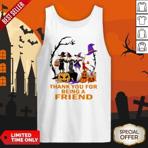 The Golden Girls Thank You For Being A Friend Halloween Tank Top