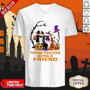 The Golden Girls Thank You For Being A Friend Halloween V-neck