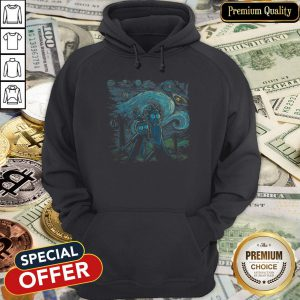 The Starry Night Rick And Morty Hoodie