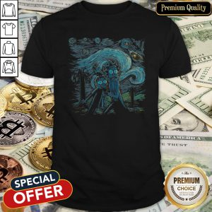 The Starry Night Rick And Morty Shirt