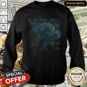 The Starry Night Rick And Morty SweatShirt