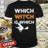 Which Witch Is Which Funny Halloween English Teacher Shirt