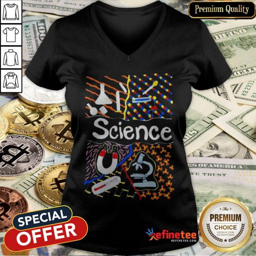 Awesome Science Power V-neck