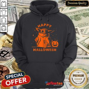 Baby Yoda Star Wars The Mandalorian The Child Happy Halloween Hoodie