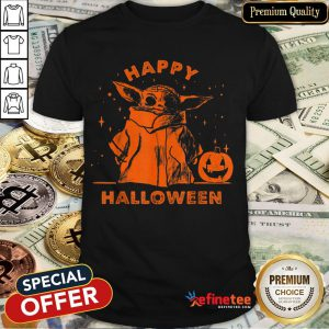 Baby Yoda Star Wars The Mandalorian The Child Happy Halloween Shirt