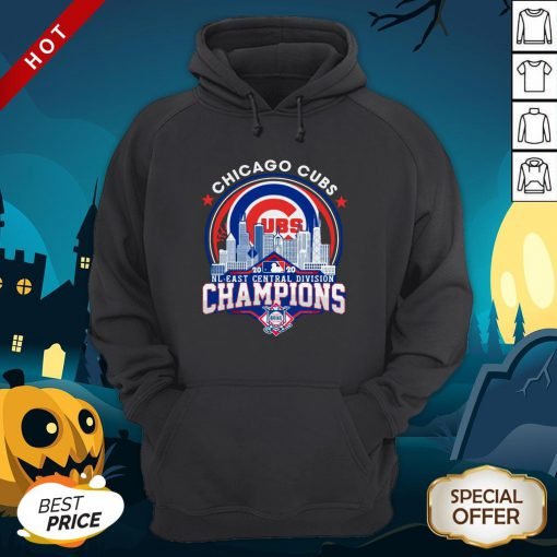 Chicago Cubs NL Central Division Champions Hoodie