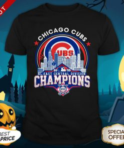 Chicago Cubs NL Central Division Champions Shirt