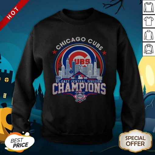 Chicago Cubs NL Central Division Champions SweatShirtChicago Cubs NL Central Division Champions SweatShirt
