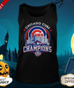 Chicago Cubs NL Central Division Champions Tank Top