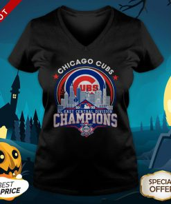Chicago Cubs NL Central Division Champions V-neck