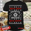 Funny Hunting Demons Winchester Brothers Saving Christmas Shirt- Design By Refinetee.com
