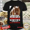 Funny Pitbull Sometimes I Just Don't Like People They Make Me Wanna Say Bad Words Shirt