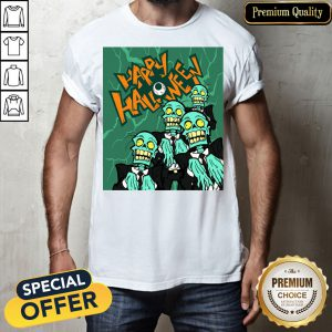 Happy Halloween Day Zombies Shirt
