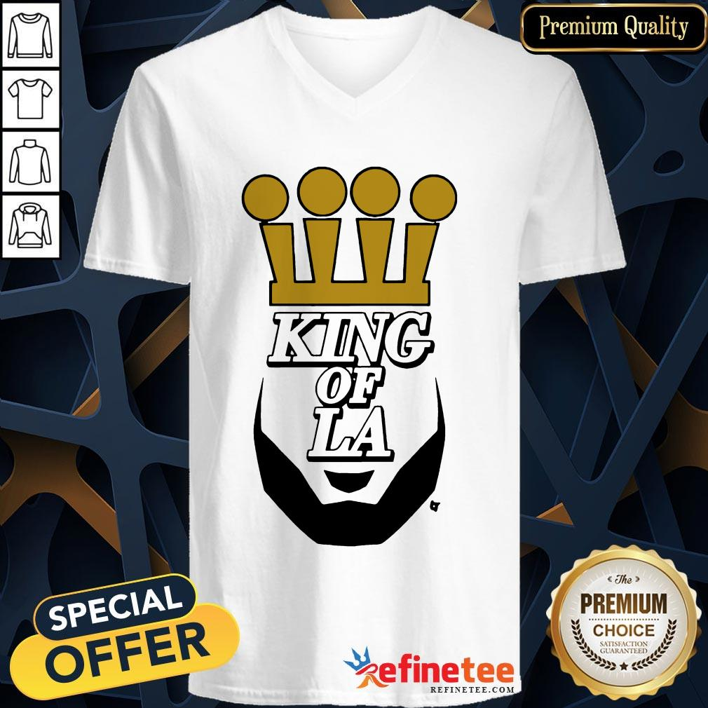 King Of L A Basketball Champs 2020 Shirt Refinetee