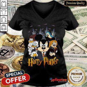 Mickey Disney Harry Potter V-neck