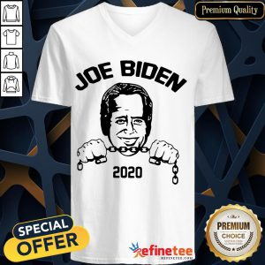 Nice Joe Biden 2020 Cornpop Corn Pop Crazy Joe Biden 2020 V-neck- Design By Refinetee.com