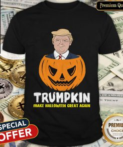 Nice Trumpkin Make Halloween Great Again Shirt