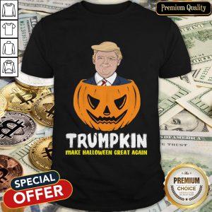 Nice Trumpkin Make Halloween Great Again Shirt