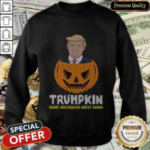 Nice Trumpkin Make Halloween Great Again SweatShirt