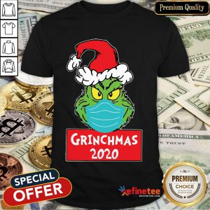 Official Grinch Wears Mask 2020 Christmas Shirt- Design By Refinetee.com