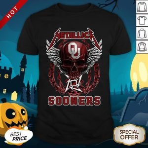 Official Skull Metallica Sooners Shirt