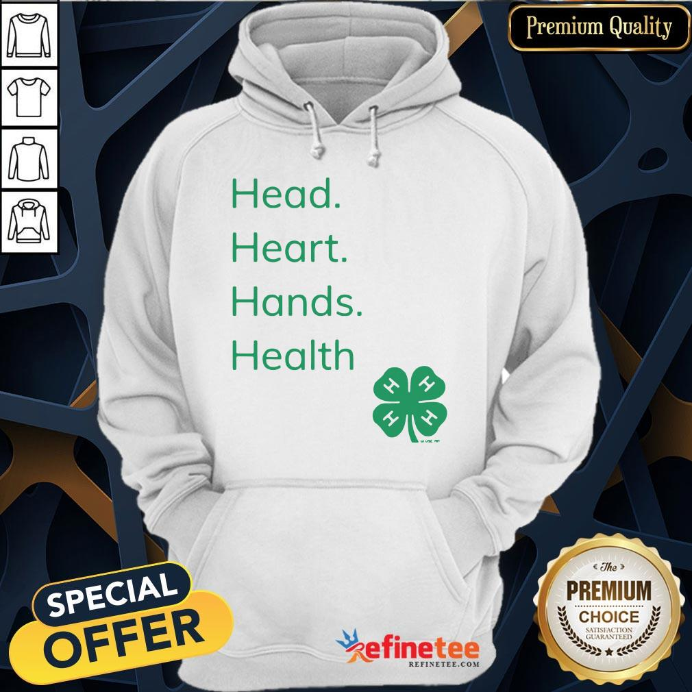 Perfect Head Heart Hands Health 4H Hoodie- Design By Refinetee.com