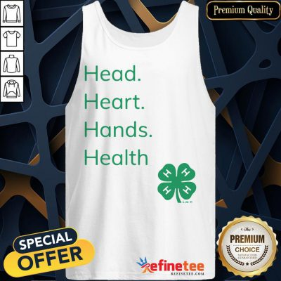 Perfect Head Heart Hands Health 4H Tank Top- Design By Refinetee.com