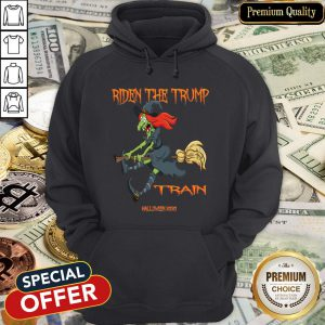 Riden The Trump Witch Train Halloween 2020 Hoodie