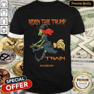 Riden The Trump Witch Train Halloween 2020 Shirt