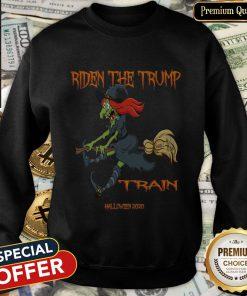 Riden The Trump Witch Train Halloween 2020 SweatShirt