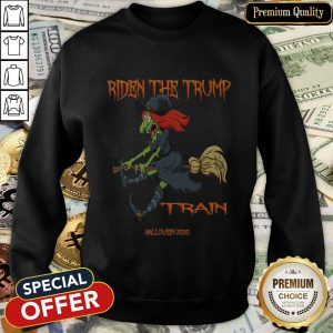 Riden The Trump Witch Train Halloween 2020 SweatShirt