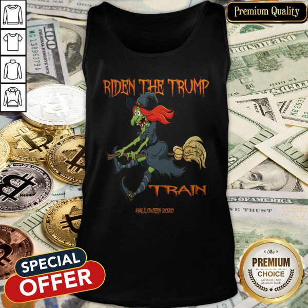 Riden The Trump Witch Train Halloween 2020 Tank Top