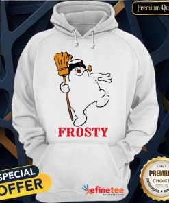 Snowman Frosty Christmas Hoodie