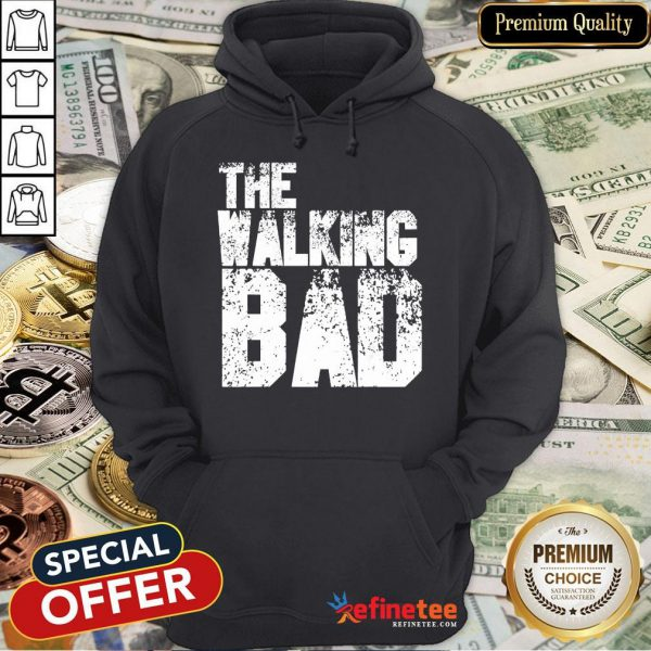 The Walking Bad Halloween Day 2020 Costume Funny Zombie Gift Hoodie