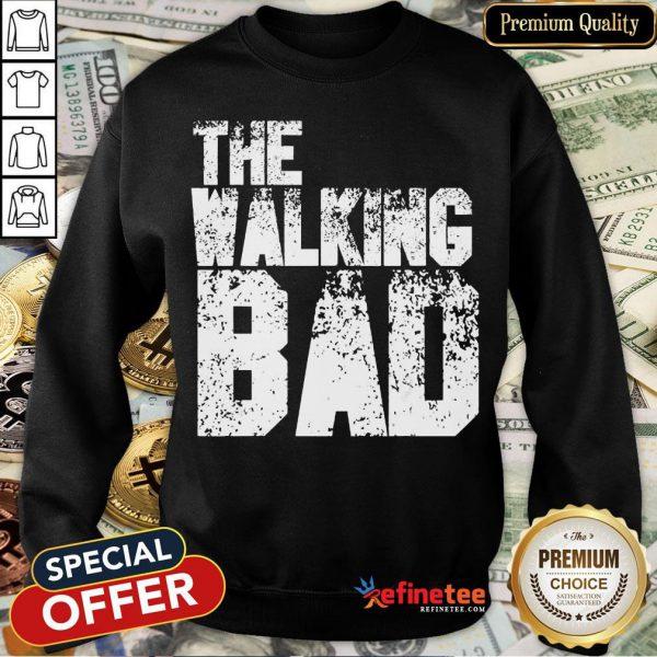 The Walking Bad Halloween Day 2020 Costume Funny Zombie Gift Sweatshir