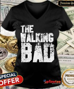 The Walking Bad Halloween Day 2020 Costume Funny Zombie Gift V-neck