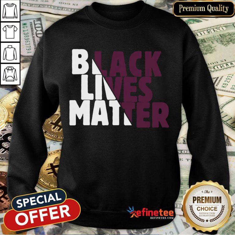 Top Black Lives Matter Made To Match Jordan 4 P S G Sweatshirt- Design By Refinetee.com