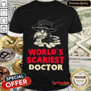 Worlds Scariest Doctor Plague Halloween Costume Lazy Easy T-Shirt