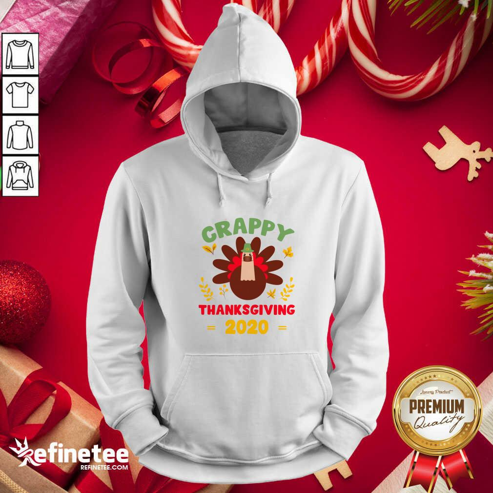Crappy Thanksgiving 2020 Hoodie - Design By Refinetee.com