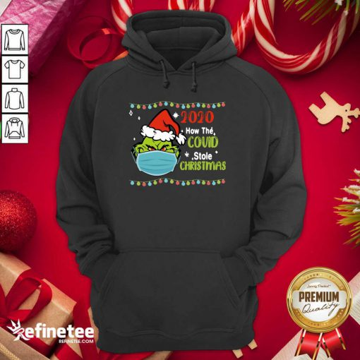 Fantastic Grinch 2020 How Covid Stole Christmas Hoodie - Design By Refinetee.com