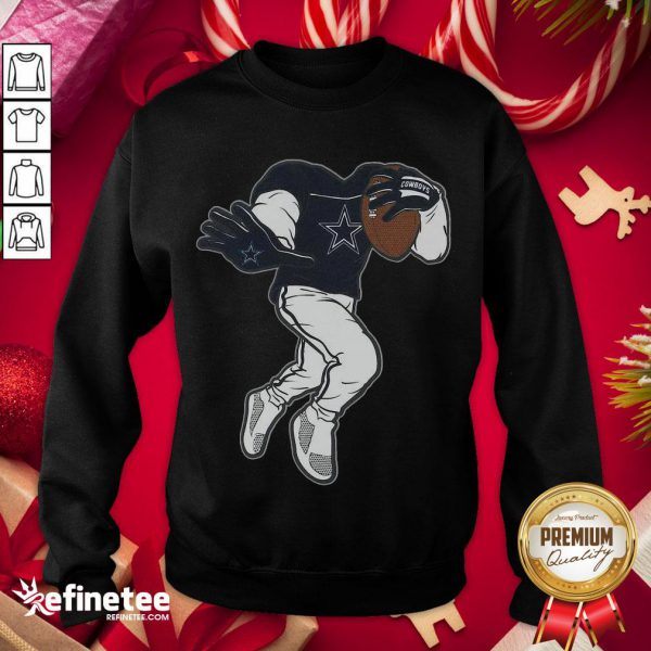 Funny Dallas Cowboys Toddler Yard Rush II Sweatshirt - Design By Refinetee.com