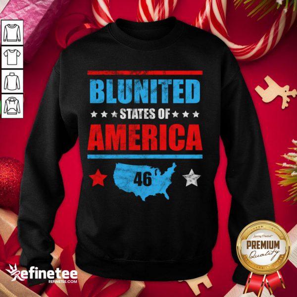 Funny Joe Biden United States Of America 46 Sweatshirt - Design By Refinetee.com