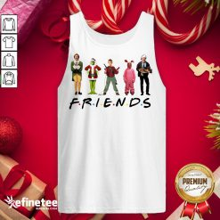 Happy Characters Elf Grinch Kevin Friends Christmas Tank-Top - Design By Refinetee.com