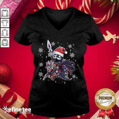 Lich King Christmas Edition Classic V-neck - Design By Refinetee.com