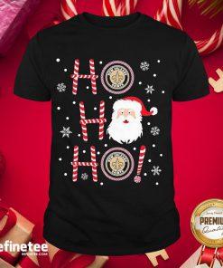 Hot Santa Claus Ho Ho Ho New Orleans Saints Christmas Shirt- Design By Refinetee.com
