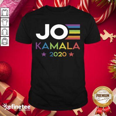 New Joe Kamala 2020 Rainbow Pride Shirt- Design By Refinetee.com