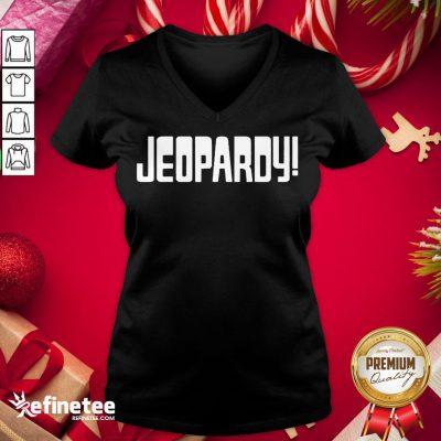Nice Jeopardy Game Show Funny V-neck - Design By Refinetee.com